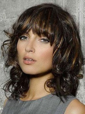 Wavy Pretty Remy Human Hair Capless Wig - Image 1