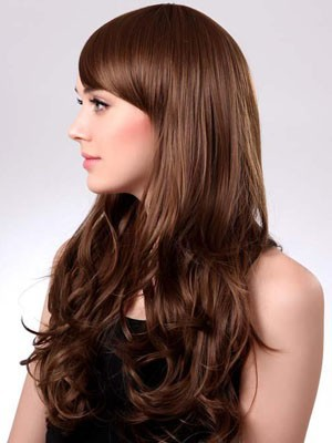 Wavy Capless Polished Long Synthetic Wig - Image 2