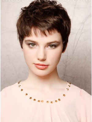 Chic Satisfied Capless Short Synthetic Wig With Straight Style  - Image 1