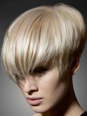 Synthetic Straight Short Capless Wig - Image 1