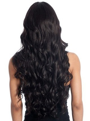 Wavy Synthetic Long Style Stylish African American Wig - Image 3