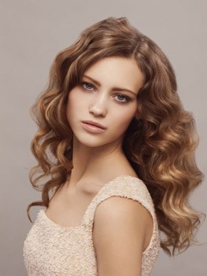 Lace Front New Style Synthetic Wavy Wig - Image 1