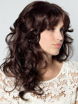 Synthetic Long Beautiful Capless Wig - Image 1