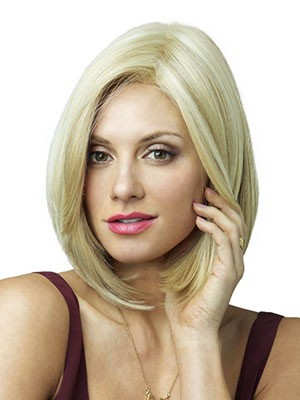 Comfortable Straight Synthetic Lace Front Wig - Image 1
