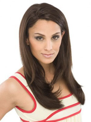 Lace Front Synthetic Stylish Straight Wig - Image 2