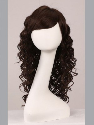 Capless Wavy Fabulous Great Remy Human Hair Wig - Image 3