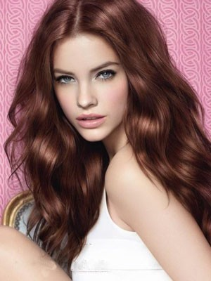 Long Lace Front Wavy Gorgeous Synthetic Wig - Image 1