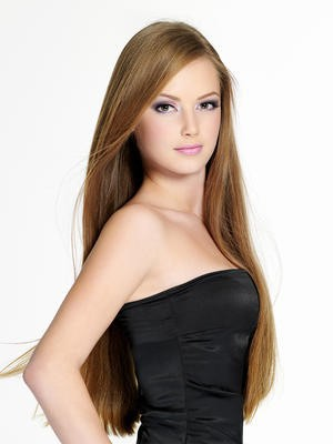 Elegant Full Lace Straight Silky Human Hair Wig - Image 2