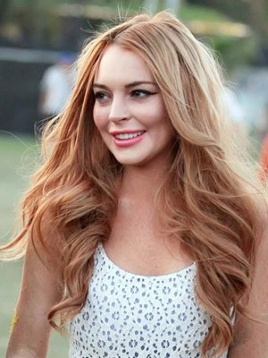 Synthetic Long Wavy Lace Front Wig - Image 1