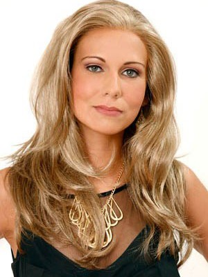 Long Length Full Lace Comfortable Wavy Synthetic Wig - Image 1