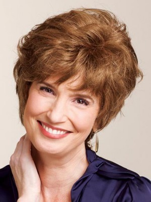Short Curly Classic Human Hair Wig - Image 1