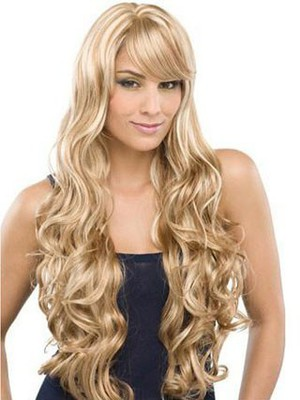 Wavy Lovely Water Full Lace Remy Human Hair Wig For Woman - Image 1