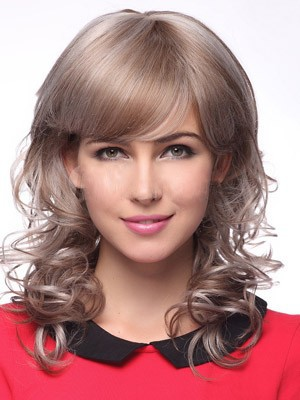 Classic Wavy Synthetic Capless Wig - Image 1