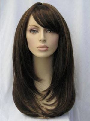 Comfortable Straight Synthetic Capless Wig - Image 2