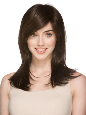 Luxury Straight Long Natural Synthetic Wig - Image 1