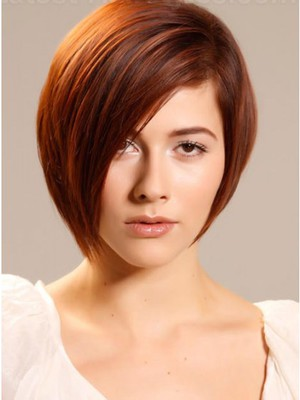 Capless Short Straight Amazing Synthetic Wig - Image 1