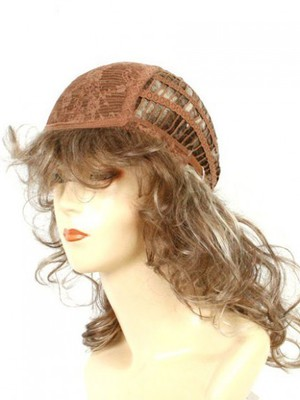 Synthetic Dramatic Tomboy Chic African American Wig - Image 4