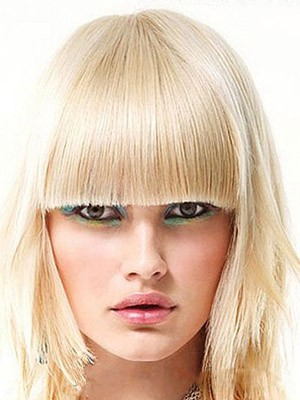 Straight Charming Synthetic Capless Wig - Image 1