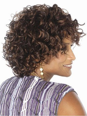 Wavy Loose Graceful Synthetic African American Wig - Image 2