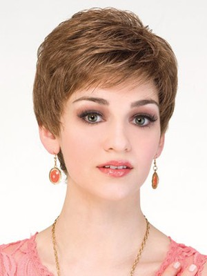 Lace Front Stylish Synthetic Wig - Image 1