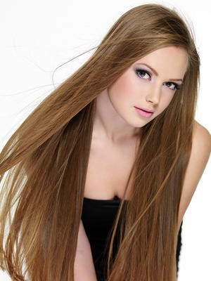 Elegant Full Lace Straight Silky Human Hair Wig - Image 1