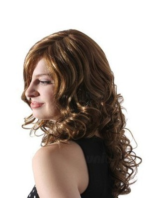 Wavy Lace Fashion Front With Mono Synthetic Wig  - Image 3