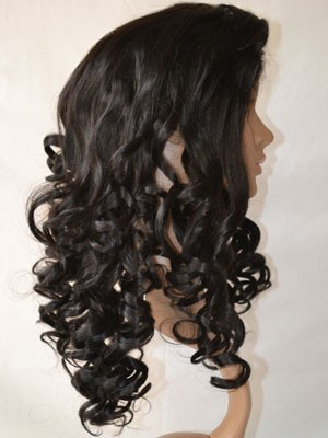 Lace Front Synthetic Fabulous Wavy Wig - Image 4