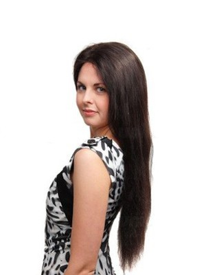 Impressive Straight Full Lace Long Human Hair Wig - Image 2