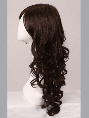 Wavy Full Lace Fashion Faddish No-fuss Wig - Image 2