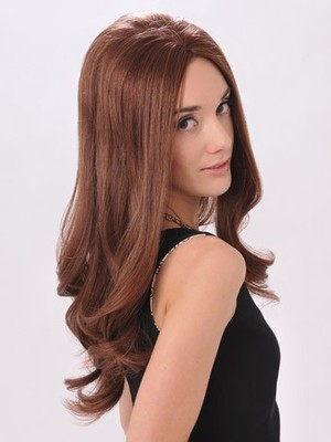 Long Human Hair Durable Lace Front Wig - Image 2