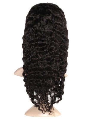 Synthetic Full Lace Curly African American Wig - Image 3