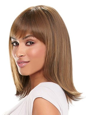 Synthetic Silky Straight Long African American Wig - Image 3