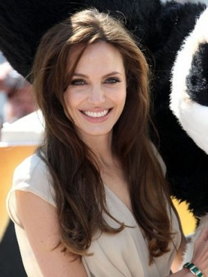 Angelina Straight Long Celebrity Wig - Image 1