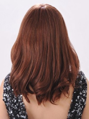 Long Awesome Modern Wavy Human Hair Lace Front Wig - Image 3