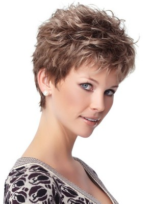 Short Capless Romantic Synthetic Wig - Image 2