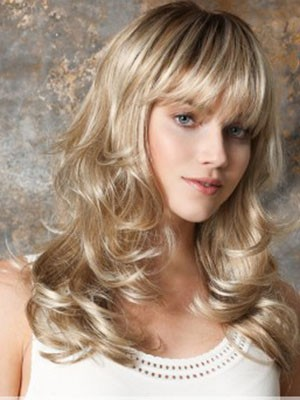 Synthetic Wavy Stylish Capless Wig - Image 2