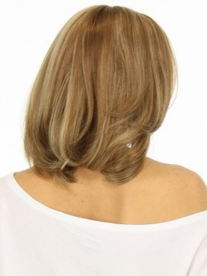 Shoulder Wavy Lace Front Nice Length Human Hair Wig - Image 3