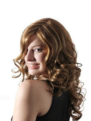 Wavy Lace Fashion Front With Mono Synthetic Wig  - Image 1