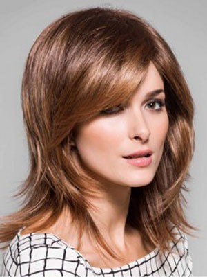 Good Looking Straight Synthetic Capless Wig - Image 1