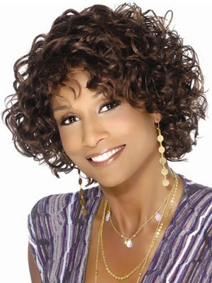 Wavy Loose Graceful Synthetic African American Wig - Image 1