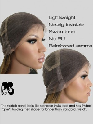 New Fashional Nicki Minaj Full Lace Celebrity Wig - Image 3
