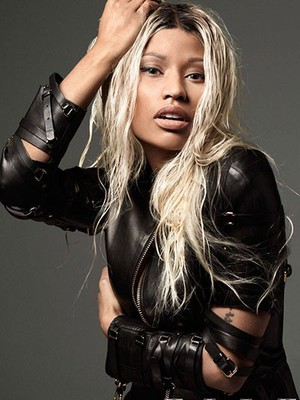 New Fashional Nicki Minaj Full Lace Celebrity Wig - Image 1