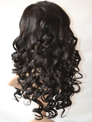 Lace Front Synthetic Fabulous Wavy Wig - Image 3