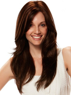 Straight Capless Popular Prodigious Remy Human Hair Wig - Image 1