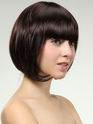 Straight Attractive Synthetic Capless Wig - Image 3