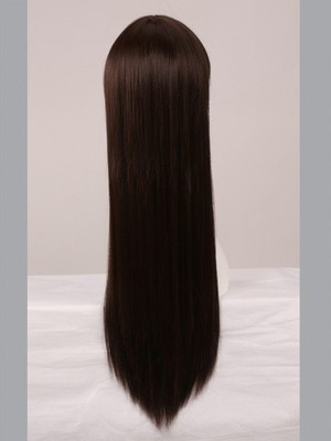Capless Straight Luxury Incredible Remy Human Hair Wig - Image 4