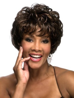 Wavy Short Synthetic Graceful African American Wig - Image 1