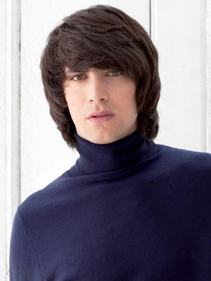 Elaborately Straight Capless Human Hair Wig - Image 1