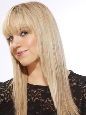 Most Popular Straight Long Human Hair Wig - Image 2