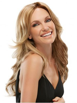 Striking Synthetic Lace Front Wavy Wig - Image 1